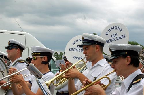 Musique des cadets de marine - Porte ouverte base aerienne saint dizier 2017 ...